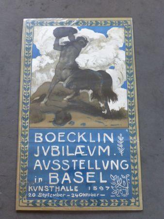 Афиша Boecklin - Le centaure ,musée de Bâle