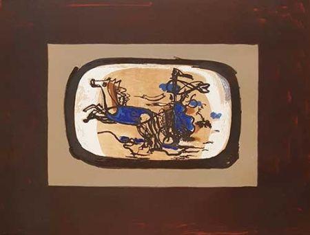 Литография Braque - Le Char