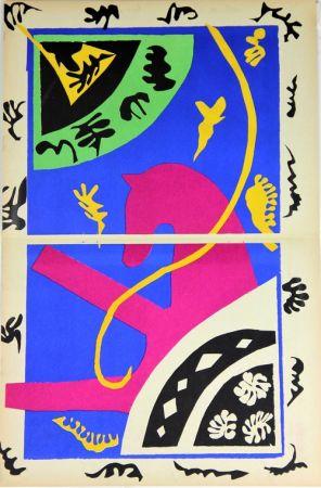 Литография Matisse - Le Cheval L'ecuyere Et Le Clown De La Serie Jazz