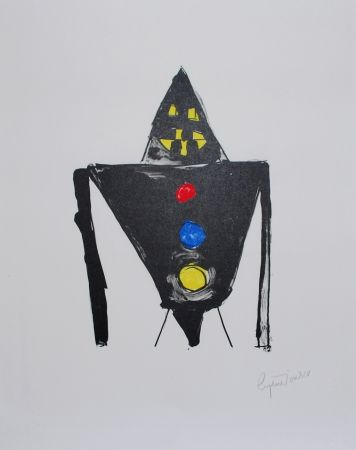 Литография Ionesco - Le chevalier noir