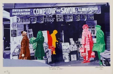 Сериграфия Fromanger - Le Comptoir du Savon