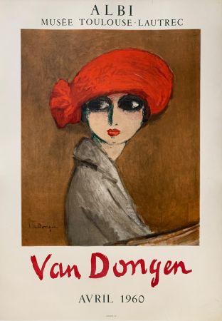Литография Van Dongen - Le Coquelicot