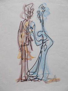 Многоэкземплярное Произведение Gianangelli - Le couple