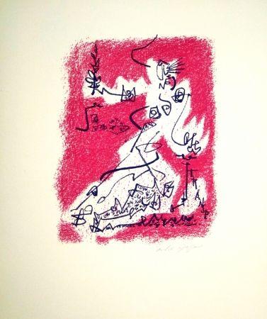 Литография Masson - Le départ