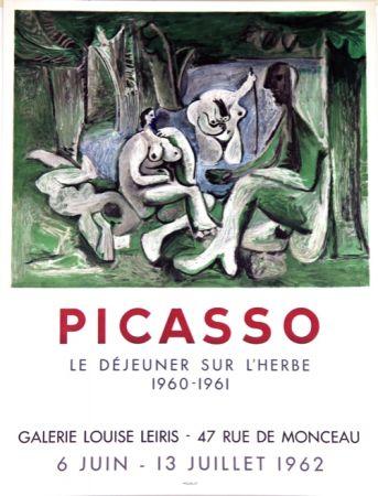 Литография Picasso - Le Dejeuner Sur L'herbe  Galerie Louise Lieris