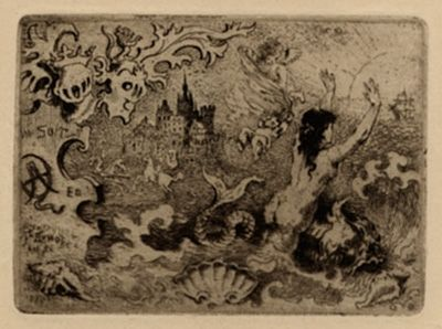 Иллюстрированная Книга Buhot - Le diable amoureux