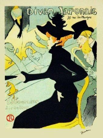 Литография Toulouse-Lautrec - Le divan japonais