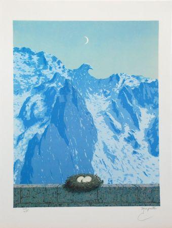 Литография Magritte - Le Domaine d'Arnheim