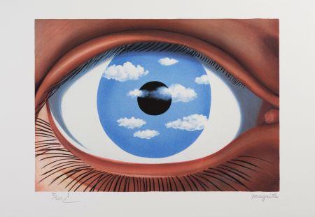 Литография Magritte - Le Faux Miroir (The False Mirror)