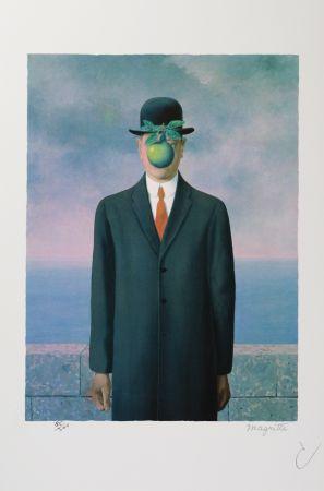 Литография Magritte - Le Fils De L'Homme (The Son Of Man)