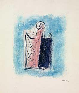 Гравюра Fautrier - Le flacon