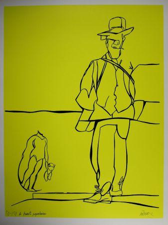 Литография Adami - Le front populaire