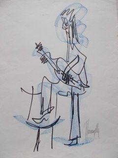Многоэкземплярное Произведение Gianangelli - Le guitariste