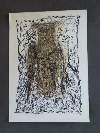 Литография Riopelle - Le hibou VII