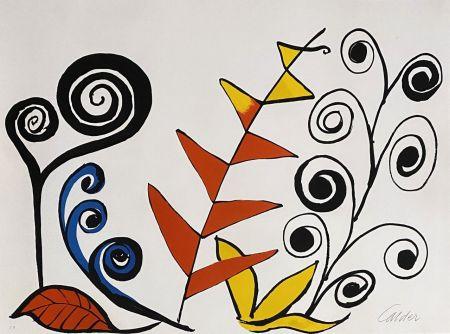 Литография Calder - Le jardin fantastique