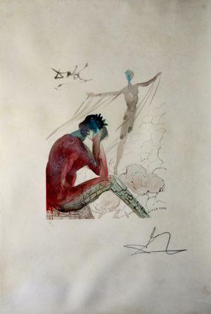 Гравюра На Дереве Dali - Le Jeune Icare from L'Art D'aimer