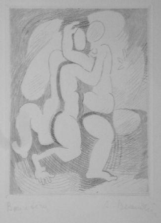 Гравюра Beaudin - Le Jongleur 2