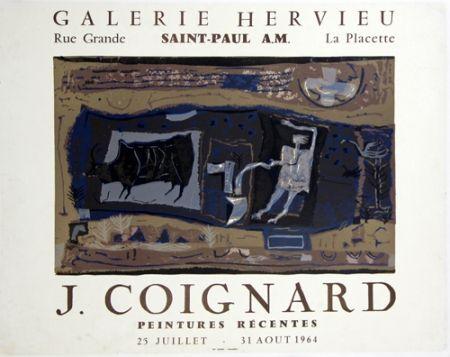 Литография Coignard - Le Laboureur Galerie Hervieu Saint Paul