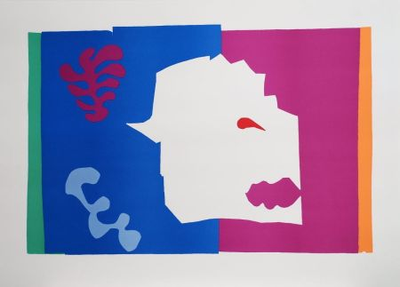 Collograph Matisse - Le Loup (The Wolf)