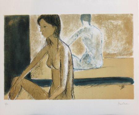 Литография Bardone - Le miroir