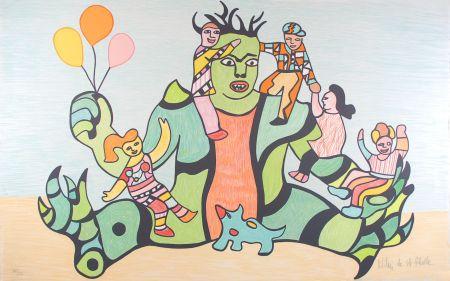 Литография De Saint Phalle - Le Monstre