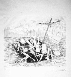 Иллюстрированная Книга Arman - Le naufrage de Méduse