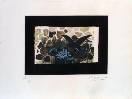 Офорт И Аквитанта Braque - Le Nid Vert