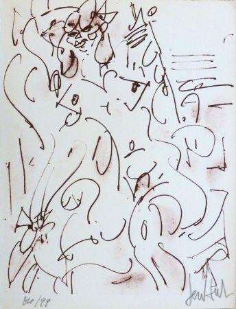 Литография Paul  - Le nu assis