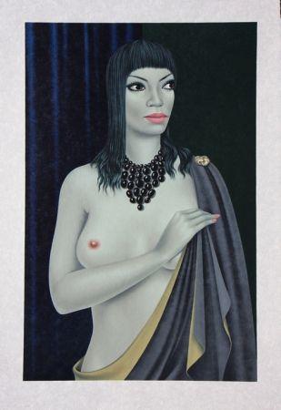 Литография Labisse - Le Nu avec le Cap - Nude with a Cape