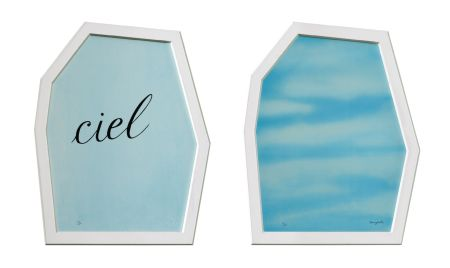 Литография Magritte - Le Palais des Rideaux