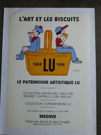 Афиша Savignac - Le patrimoine artistique LU ,l'art et les biscuits