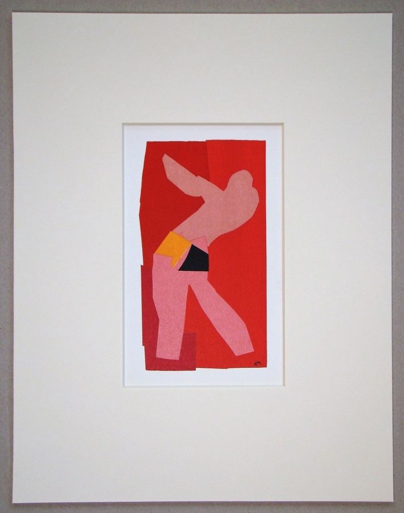 Литография Matisse (After) - Le petit danseur - 1947