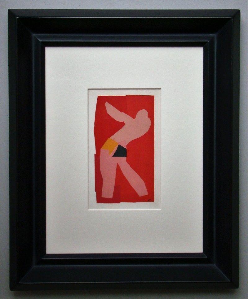 Литография Matisse (After) - Le petit danseur - 1947