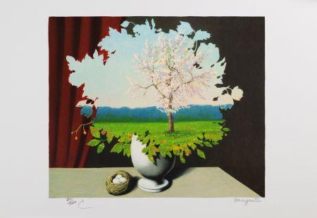 Литография Magritte - Le Plagiat
