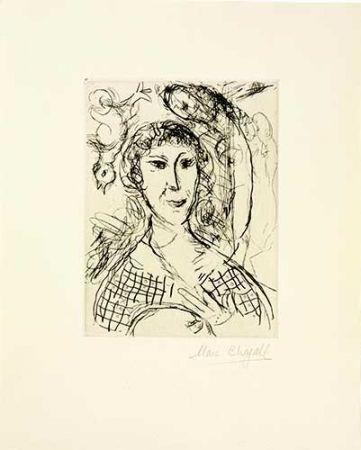 Гравюра Chagall - Le portrait du peintre