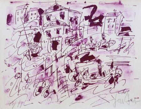 Литография Paul  - Le quatuor