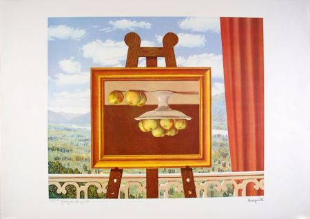 Литография Magritte - Le réveil Matin - The Morning Alarm clock