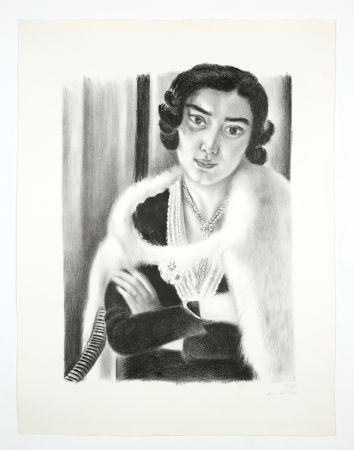 Литография Matisse - Le renard blanc