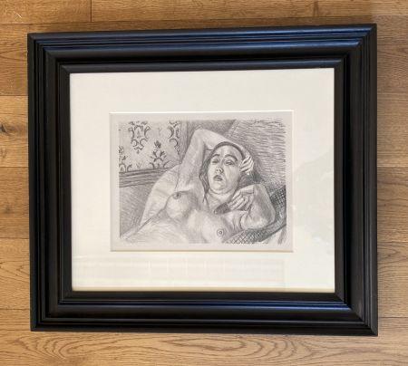 Литография Matisse -  Le repos du modele