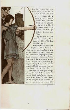 Иллюстрированная Книга Engels - Le roman de Tristan et Iseut