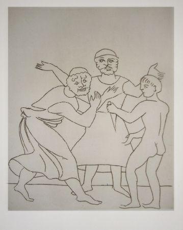 Иллюстрированная Книга Derain - Le satyricon