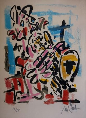 Литография Paul  - Le Saxophoniste / The Saxophonist