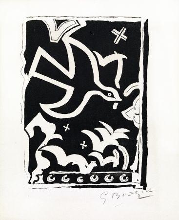Гравюра Braque - Le soleil des eaux