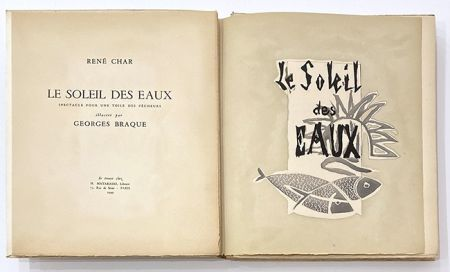 Иллюстрированная Книга Braque - Le soleil des eaux