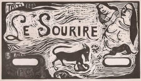 Гравюра На Дереве Gauguin - Le Sourire