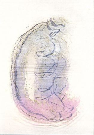 Офорт И Аквитанта Fautrier - Le torse de la femme (Fautrier l'enragé)
