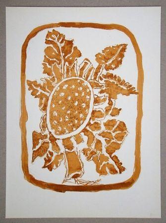 Литография Braque (After) - Le Tournesol