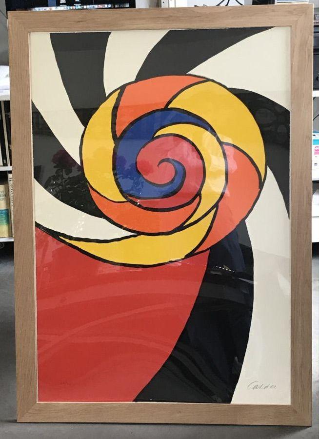 Литография Calder - Le turban , 1969