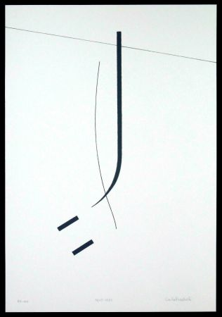 Сериграфия Badiali - Le vent se leve (tavola 5)