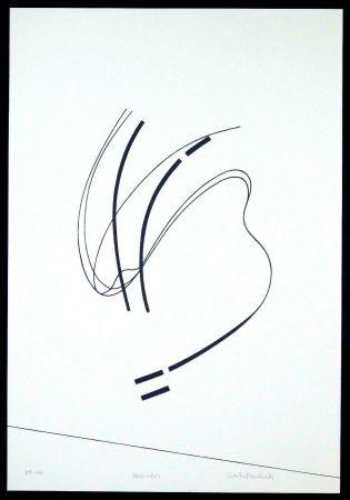 Сериграфия Badiali - Le vent se leve (tavola 6)
